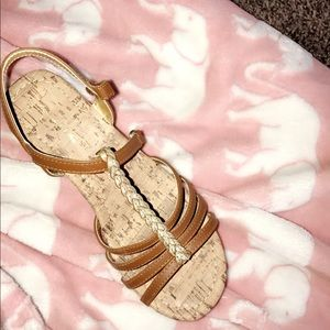 Shoes - sandle wedges
